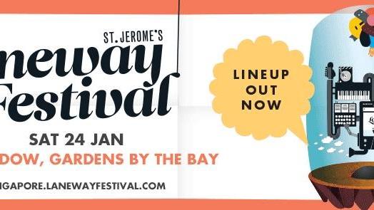 ST. JEROME'S LANEWAY FESTIVAL SINGAPORE 2015