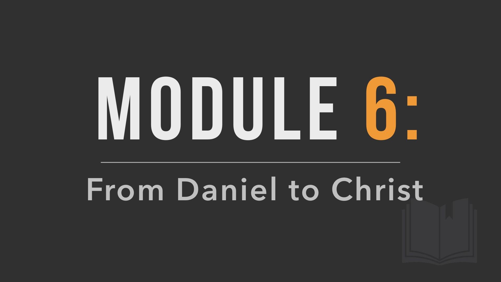 Module 6 Poster Image