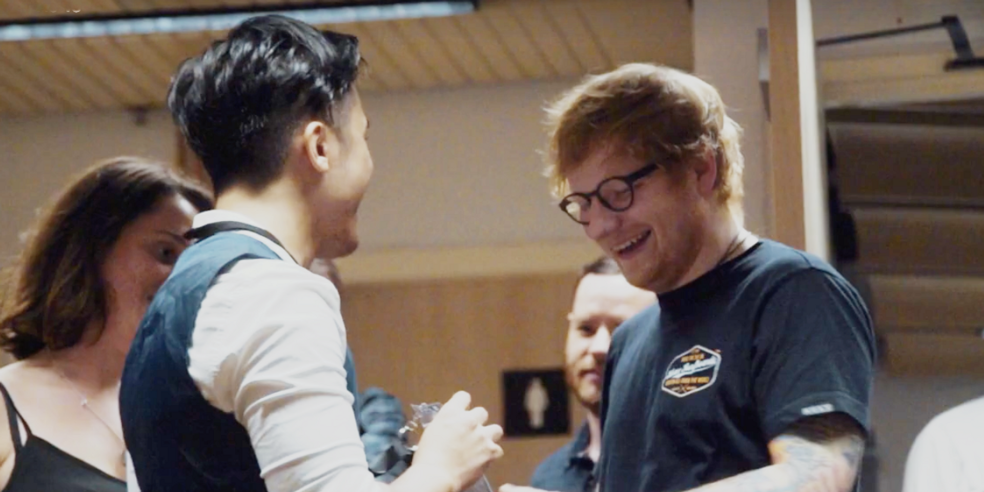 WATCH: Hirzi attempts to find Ed Sheeran in hopes of a collaboration in Sydney