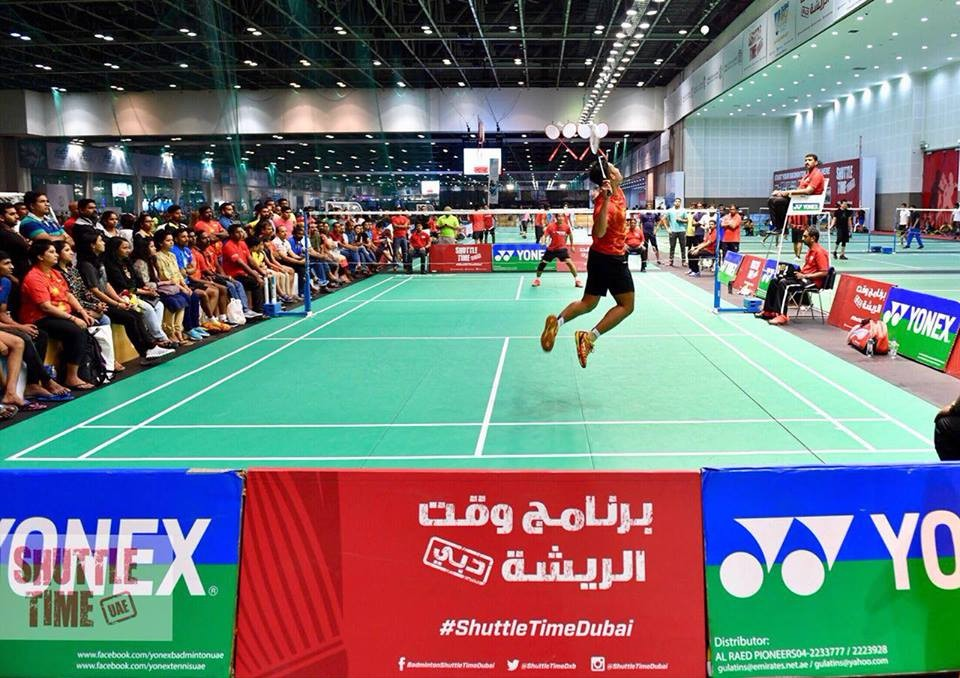 SHUTTLE TIME IS BACK AT DUBAI SPORTS WORLD! BOOKING IS LIVE