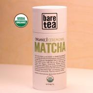 Organic Ceremonial Matcha from Bare Tea