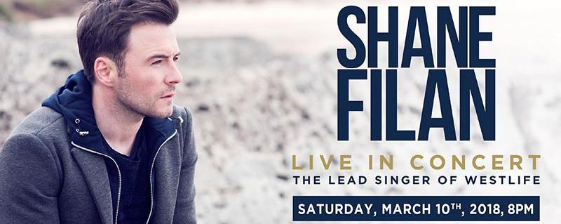 Shane Filan Concert At The Coliseum, Hard Rock Hotel, Singapore