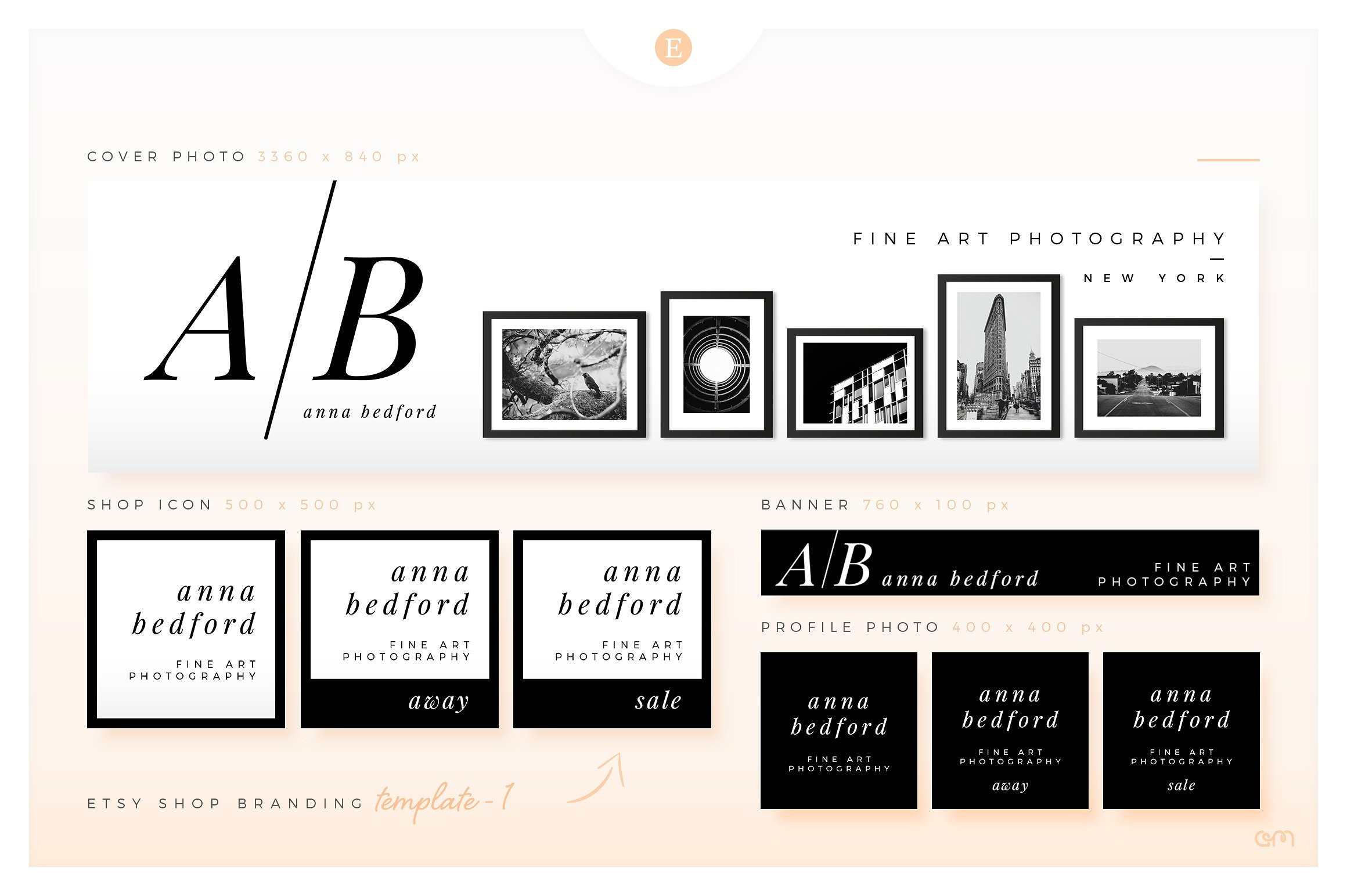 Etsy 101 Branding Your Etsy Shop With Etsy Banner Templates Volume