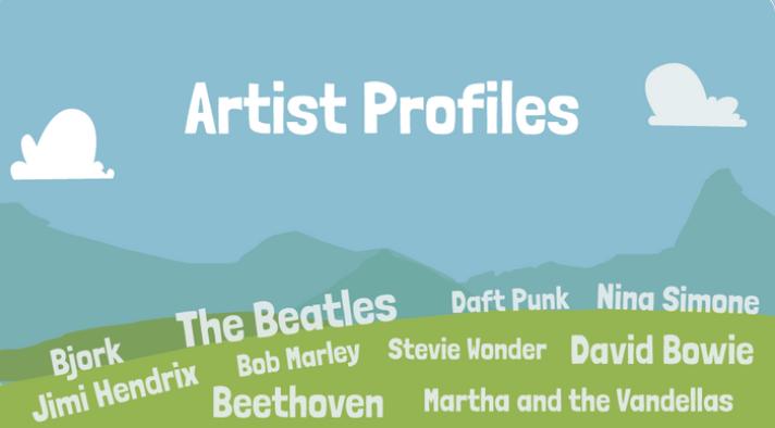 DabbledooMusic Artists Profiles