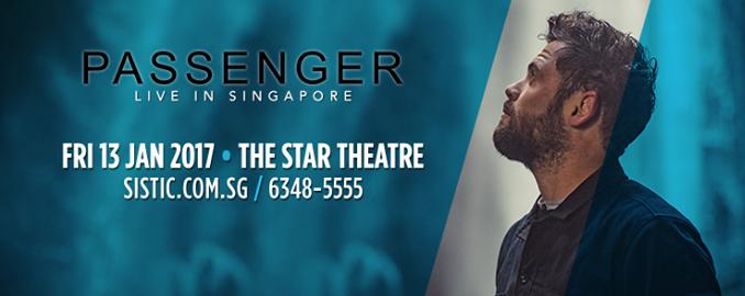 Passenger - Live in Singapore