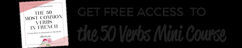 50 verbs course