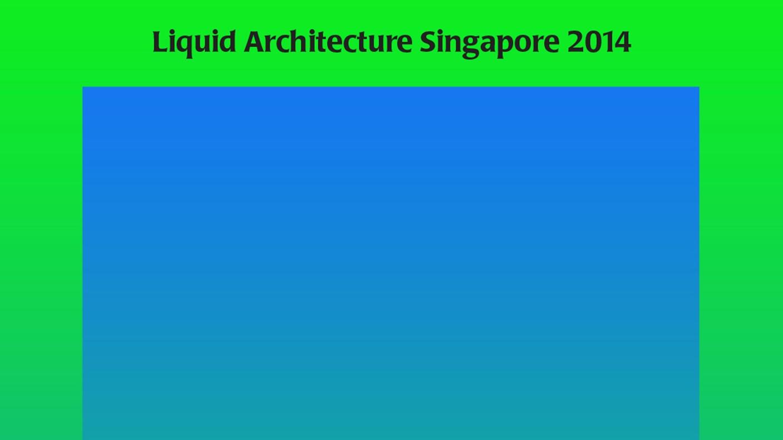 Liquid Architecture Singapore 2014