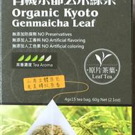 Organic Kyoto Genmaicha Leaf from Qing He Organic Co., Ltd