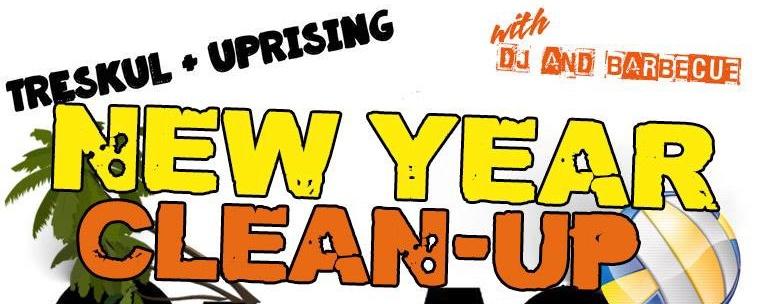New Year Clean Up Garage Sale