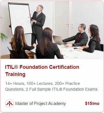 sample itil foundation exam questions
