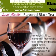 Sweet Merlot Black Tea from 52teas