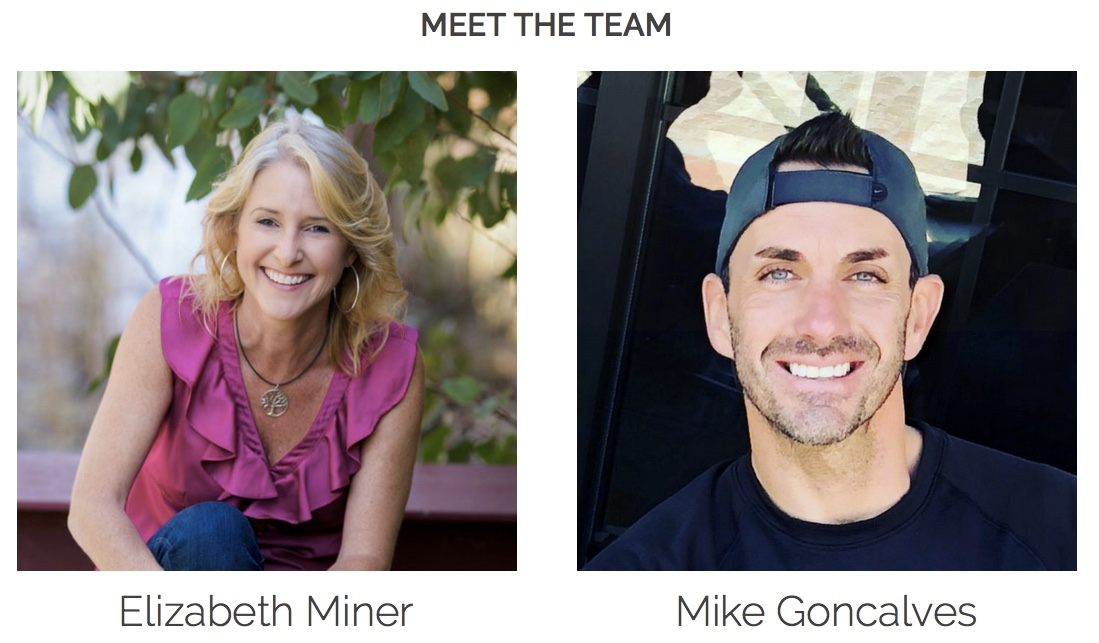 Elizabeth Miner & Mike Goncalves