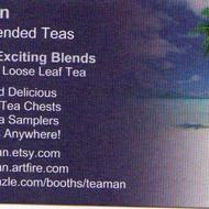 sancha green tea from Teaman Hand Blended Teas in Michigan