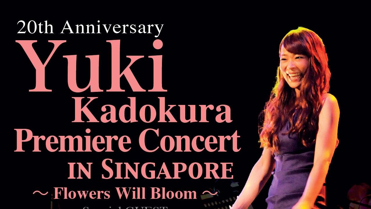 Yuki Kadokura Premier Concert in Singapore