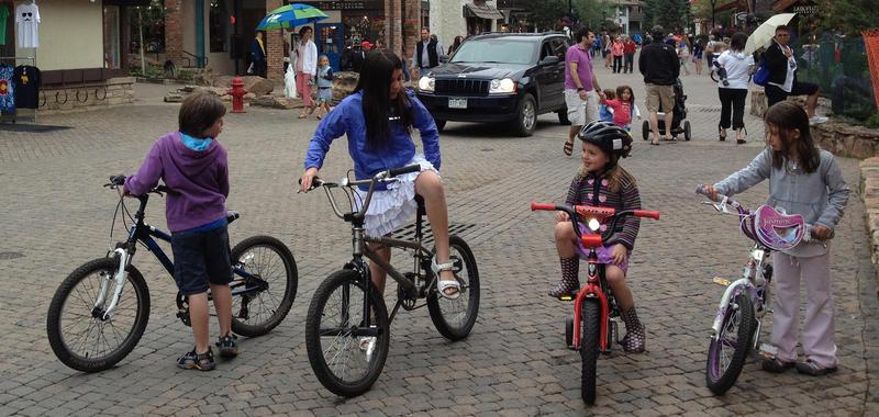 Vail Village kids bikes 1950jpg