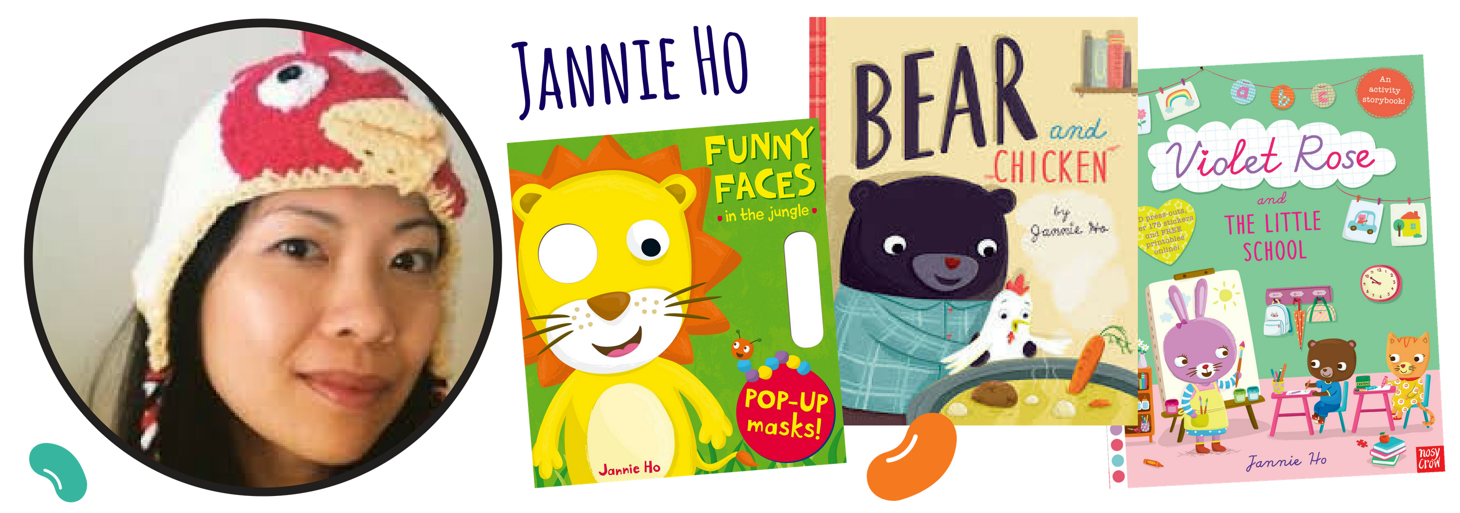 Jannie Ho for Children's Book Academy