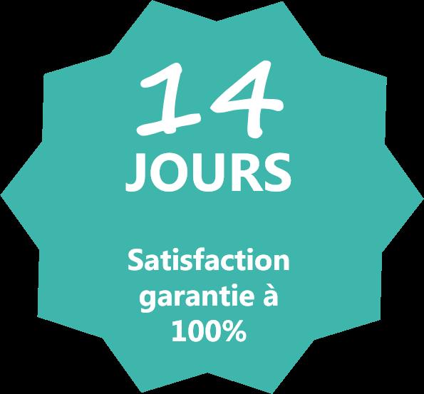 Garantie de satisfaction
