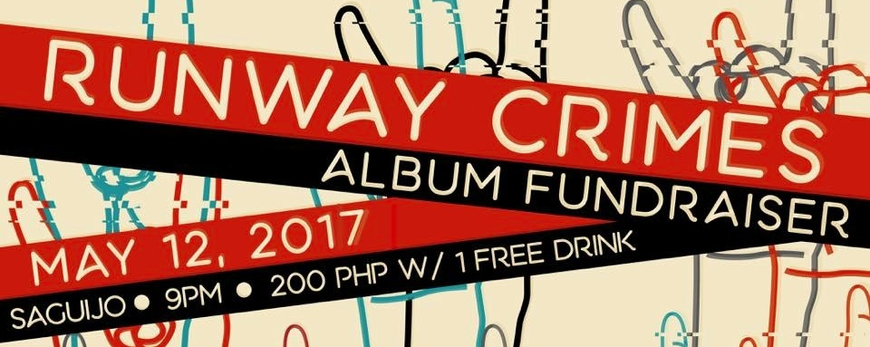 Runway Crimes Album Fundraiser