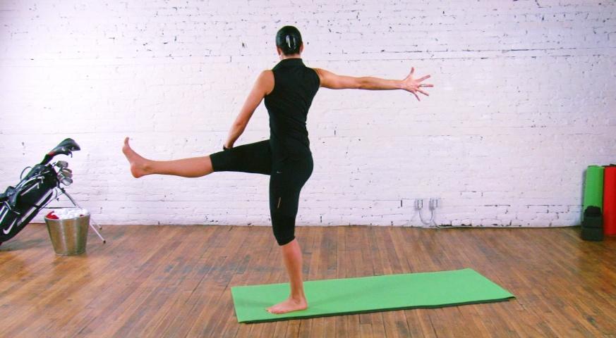 Yoga pour Golfeurs - 8 étapes - 5. Équilibre