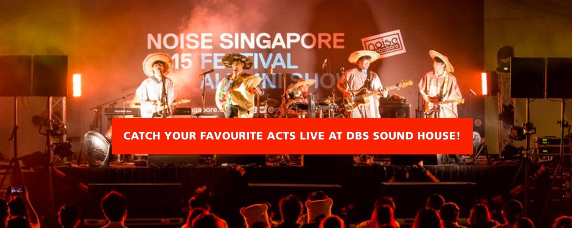 DBS Marina Regatta at DBS Sound House
