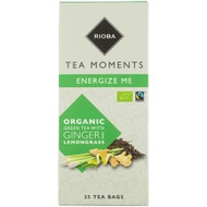 Organic Green Tea with Ginger and Lemongrass from Rioba