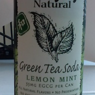 Green Tea Soda Lemon Mint from Hansen's Natural