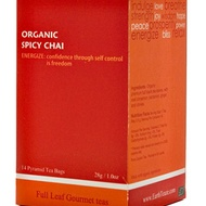 Organic Spicy Chai from Earth Teaze