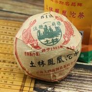 2007 Nan Jian 818 'Phoenix' tuo 100g from Yunnan Dali Nan Jian Xian Tea Co. Ltd.