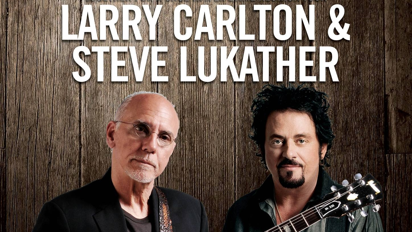 LARRY CARLTON & STEVE LUKATHER Live in Singapore!