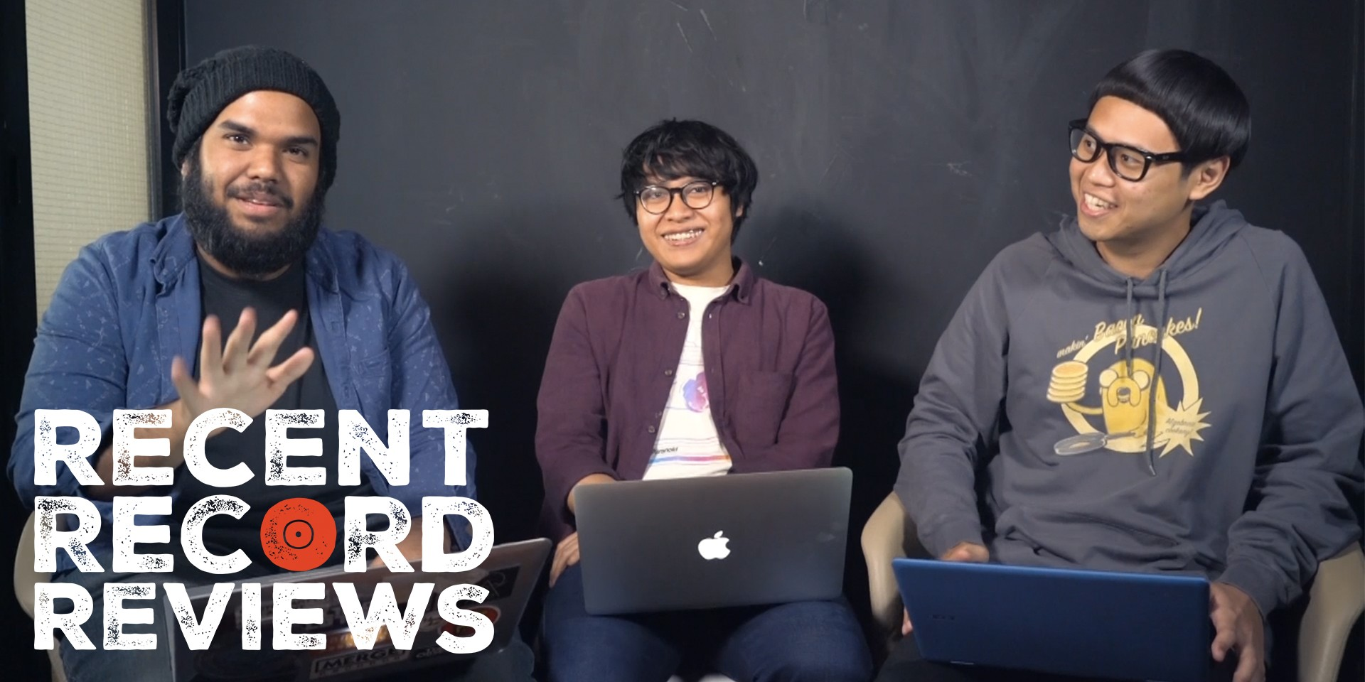 WATCH: Bandwagon Recent Record Reviews #012 - Shaky Wrists, asyraft, The Observatory