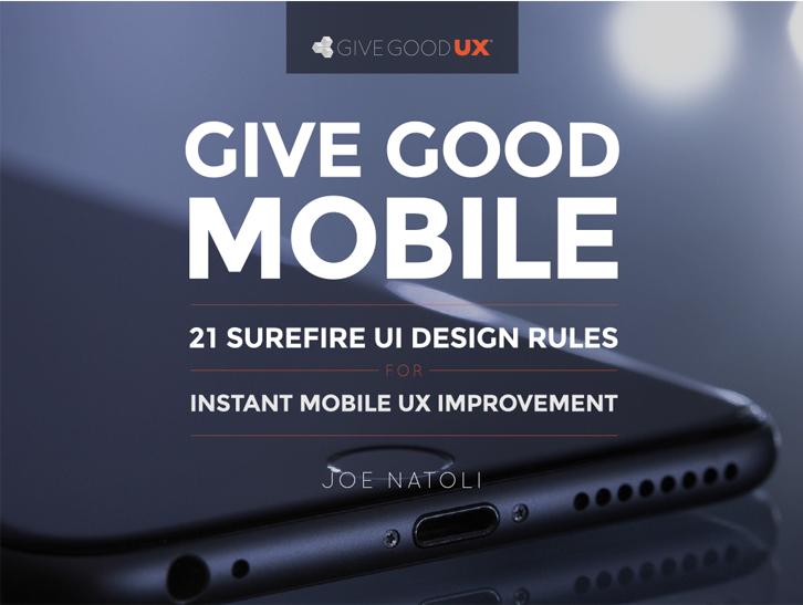 Mobile UX Improvement