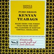 Fairtrade pure origin Kenyan teabags from Marks & Spencer Tea