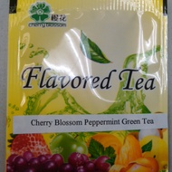 Japanese Cherry Blossom Peppermint Green tea from Healthy Tea Store