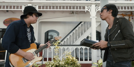 WATCH: Spacedays perform in front of Stewords Riverboat for Bandwagon Sessions