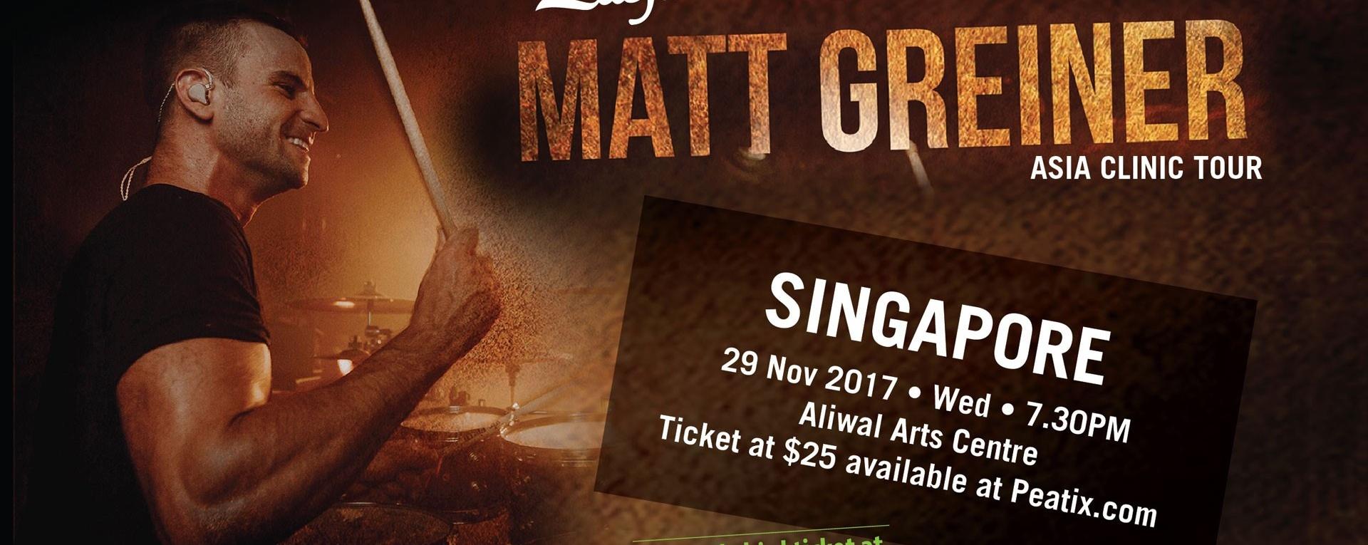 Matt Greiner Asia Clinic Tour 2017