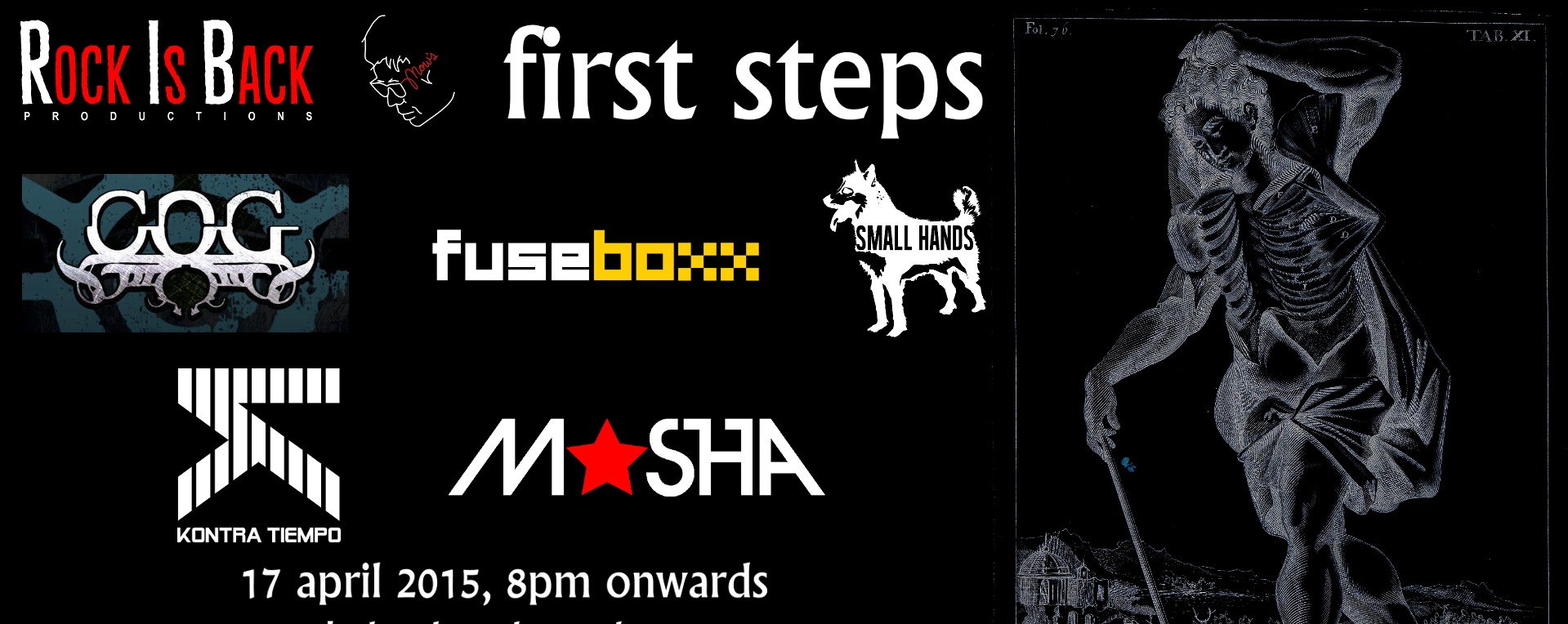 First Steps: The Rock Is Back Productions Launch