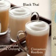 Caramel Earl Grey Tea Latte from Caribou Coffee