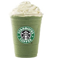 Green Tea Frappuccino Blended Creme from Starbucks