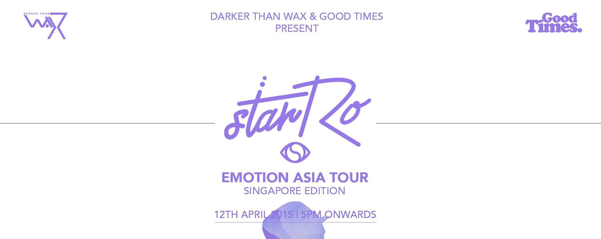 DTW & Good Times Present starRo