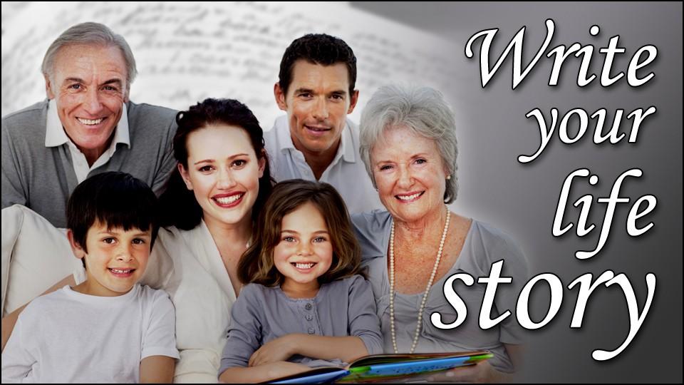 Write Your Life Story Logo