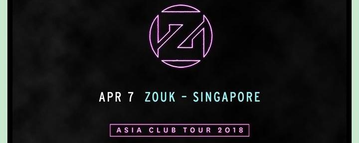 Zedd - Asia Club Tour 2018: Singapore, Singapore
