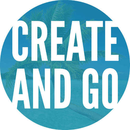 Create and Go blogging icon