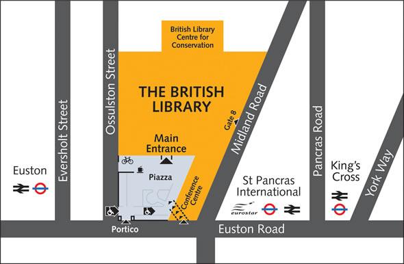 British Library Map