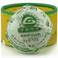 """2010 Xiaguan """"Bulang"""" teardrop from Xia Guan tea ( Berylleb on Ebay)"""