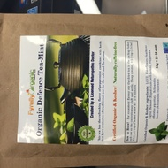 Organic Defence Tea-Mint from Fyrefly Organic Herbal Teas