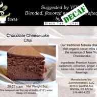 Decaf Chocolate Cheesecake Chai from 52teas