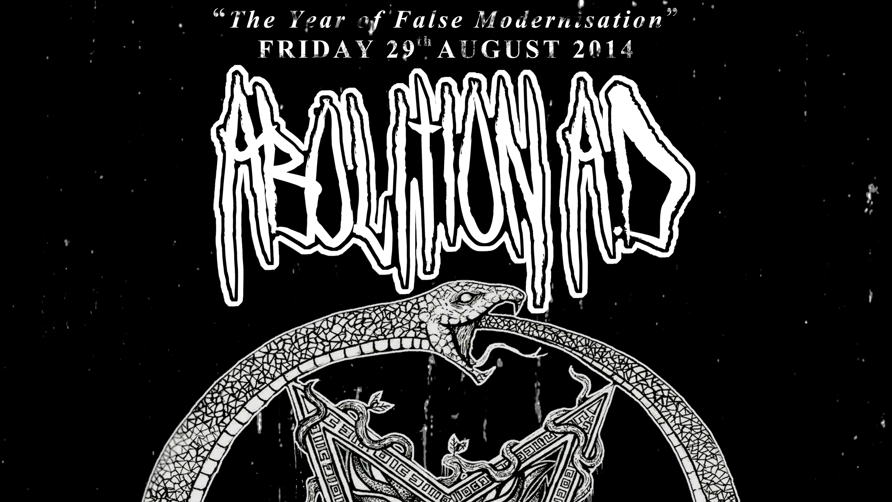 ABOLITION A.D AFTER DEATH BEFORE CHAOS RELEASE SHOW