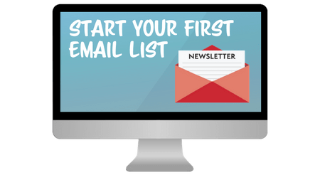 start an email list