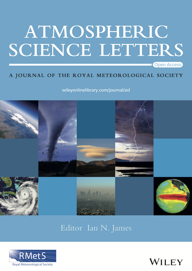 Template for submissions to Atmospheric Science Letters