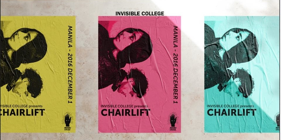 The Invisible College makes Manila debut with American synth pop duo Chairlift